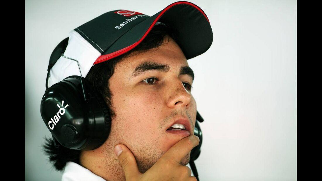 Sergio Perez - Formel 1 - GP Indien - 26. Oktober 2012