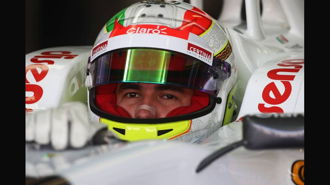 Sergio Perez - Formel 1 - GP Italien - 08. September 2012