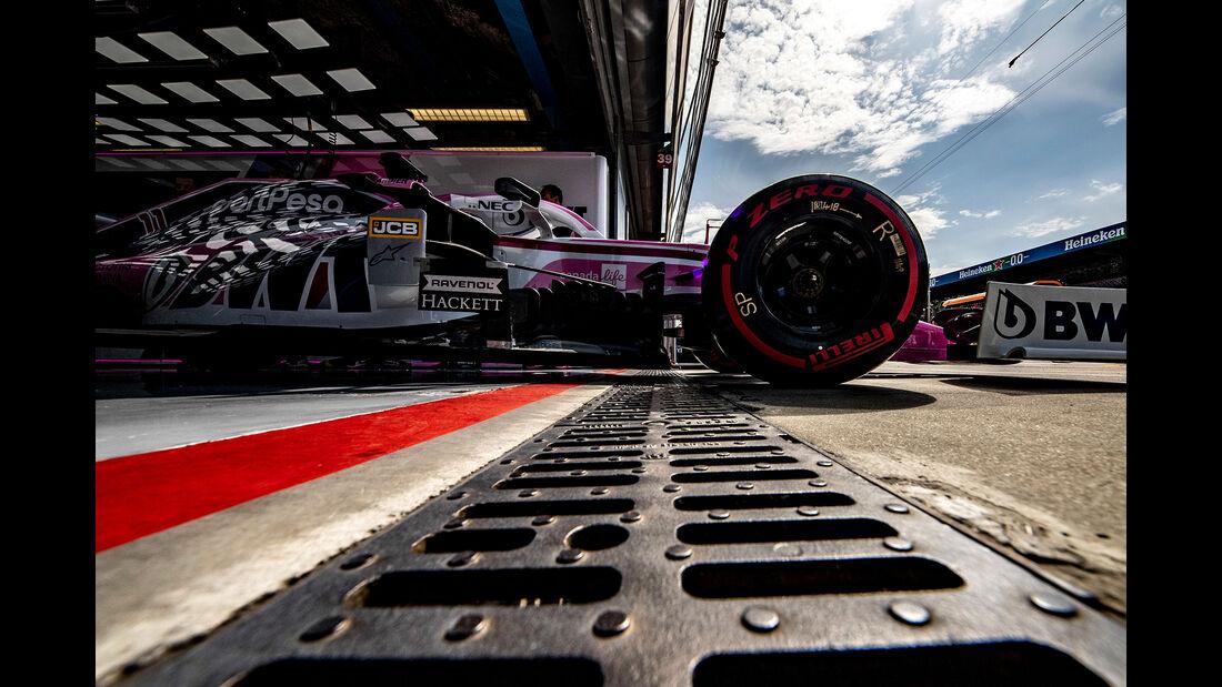 Sergio Perez - Formel 1 - GP Italien 2019