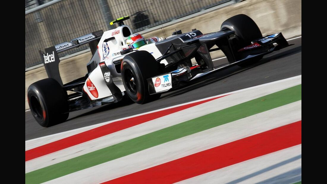 Sergio Perez - Formel 1 - GP Italien - 7. September 2012