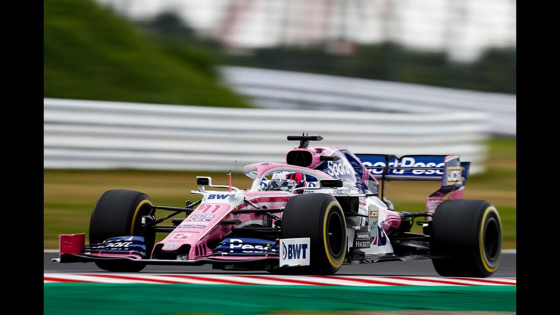 Sergio Perez - Formel 1  - GP Japan 2019
