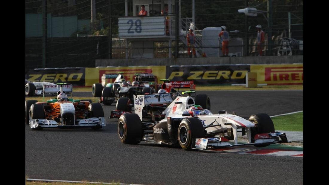 Sergio Perez - Formel 1 - GP Japan - 9. Oktober 2011