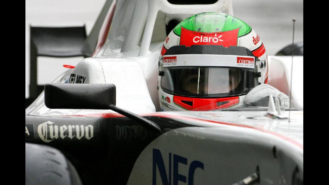 Sergio Perez - Formel 1 - GP Korea - 14. Oktober 2011