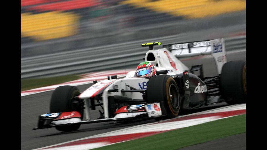 Sergio Perez  - Formel 1 - GP Korea - 15. Oktober 2011
