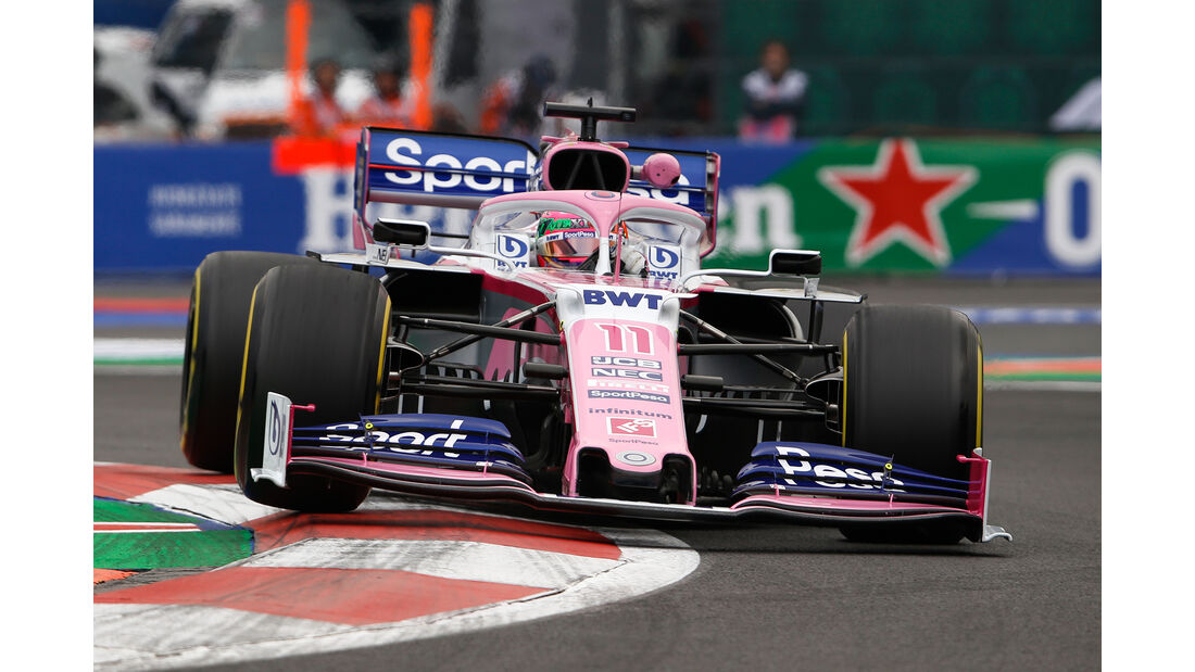 Sergio Perez - Formel 1 - GP Mexico 2019