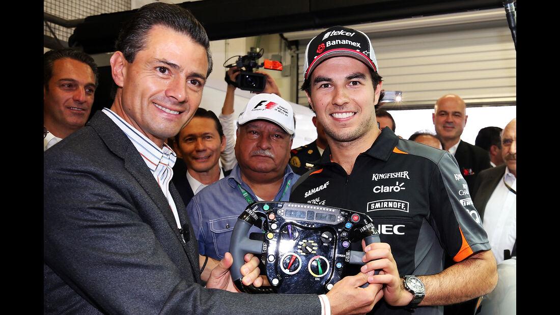 Sergio Perez - Formel 1 - GP Mexico - 29. Oktober 2015