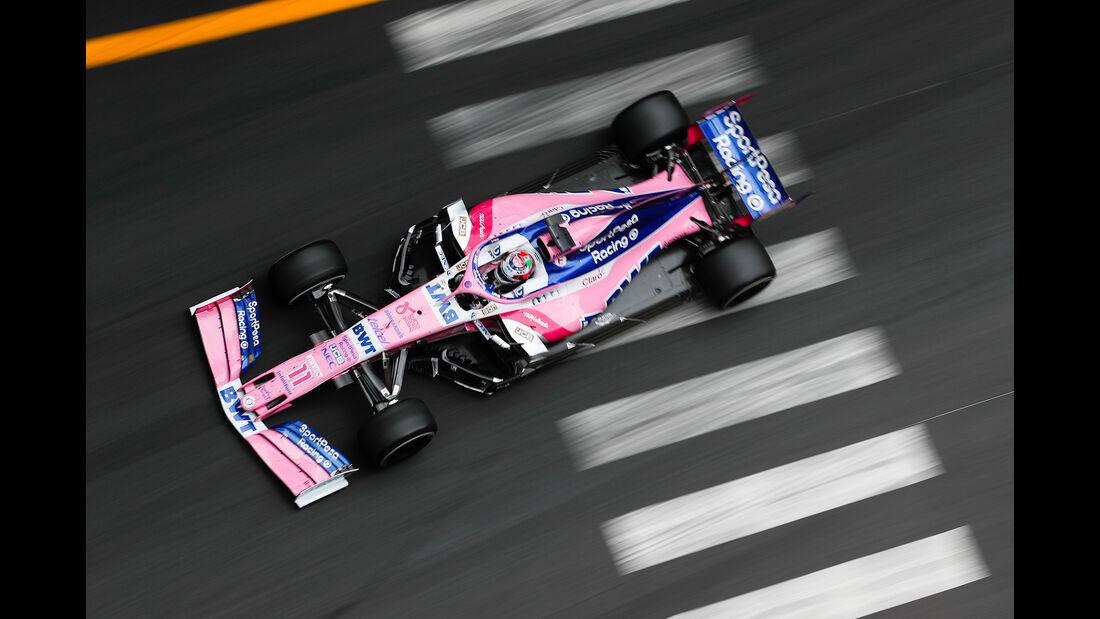 Sergio Perez - Formel 1 - GP Monaco 2019
