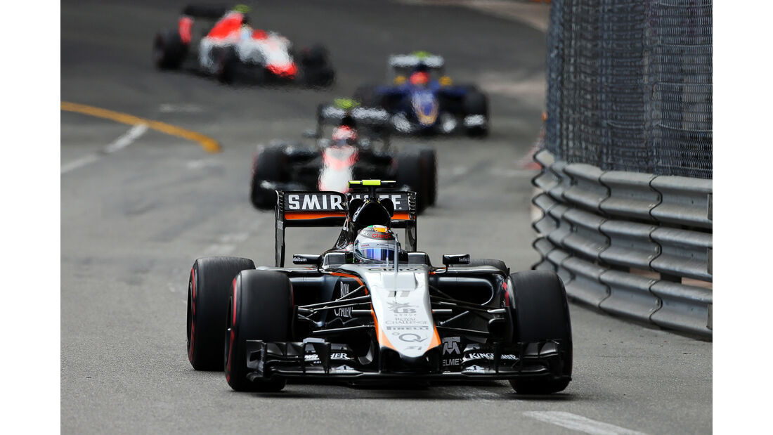 Sergio Perez  - Formel 1 - GP Monaco - Sonntag - 24. Mai 2015