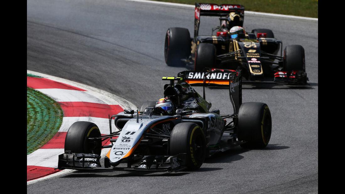 Sergio Perez - Formel 1 - GP Österreich 2015