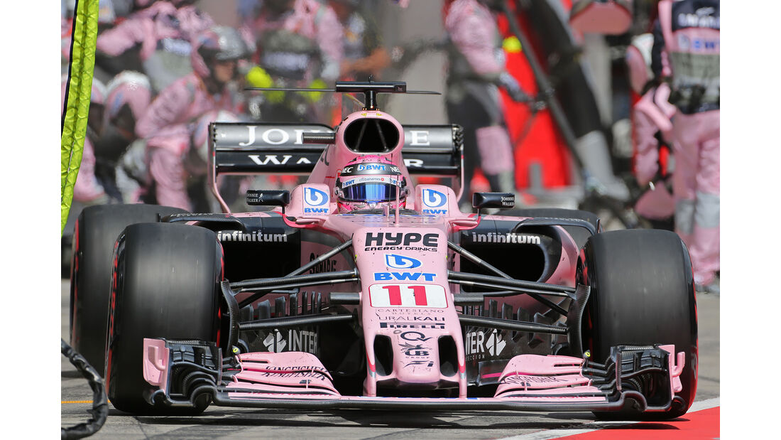 Sergio Perez - Formel 1 - GP Österreich 2017