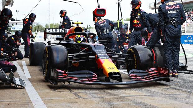 Sergio Perez - Formel 1 - GP Spanien 2021