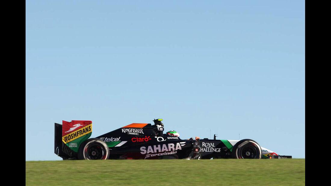 Sergio Perez  - Formel 1 - GP USA - 31. Oktober 2014