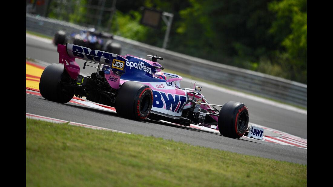 Sergio Perez - Formel 1 - GP Ungarn 2019