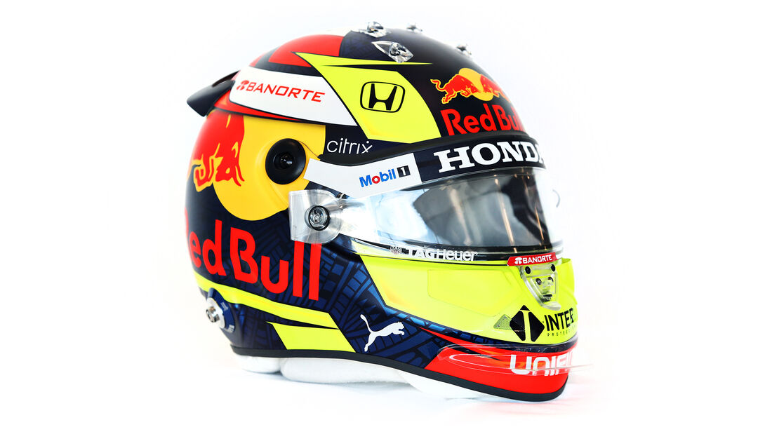 Sergio Perez - Formel 1 - Helm - 2021