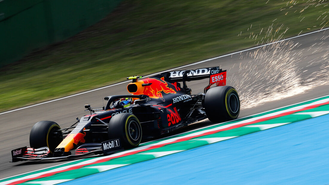 Sergio Perez - Formel 1  - Imola - GP Emilia Romagna 2021