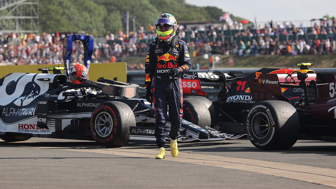 Sergio Perez - Formel 1 - Silverstone - GP England 2021