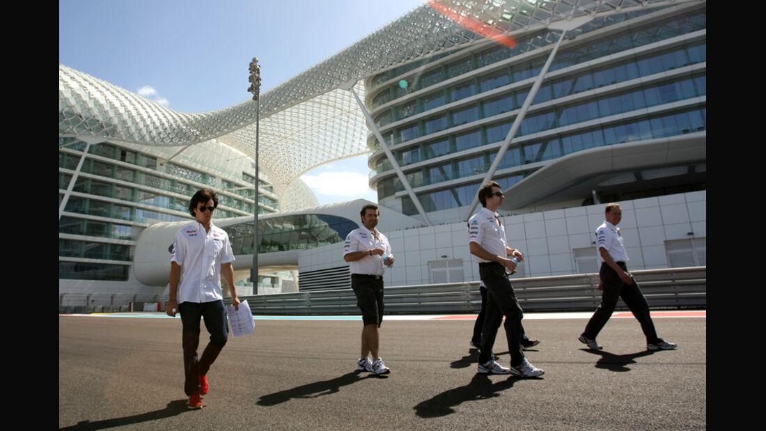 Sergio Perez - GP Abu Dhabi - 10. November 2011