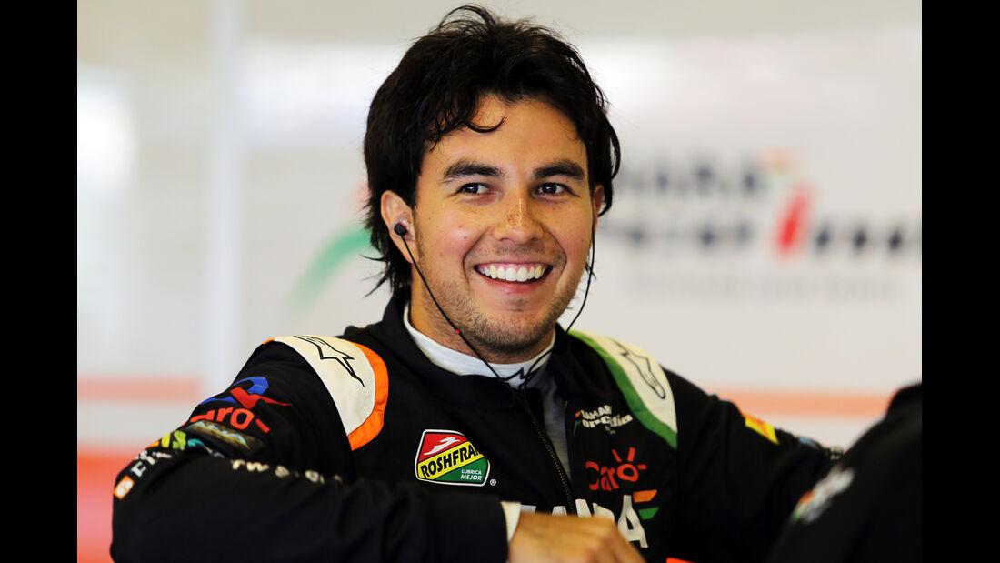 Sergio Perez - GP Abu Dhabi 2014