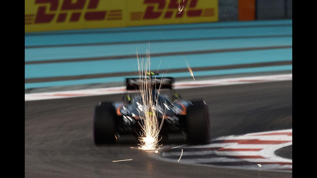 Sergio Perez - GP Abu Dhabi 2016