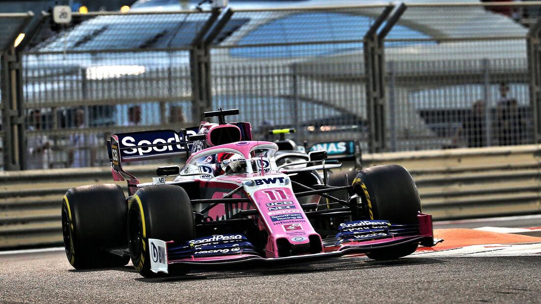 Sergio Perez - GP Abu Dhabi 2019
