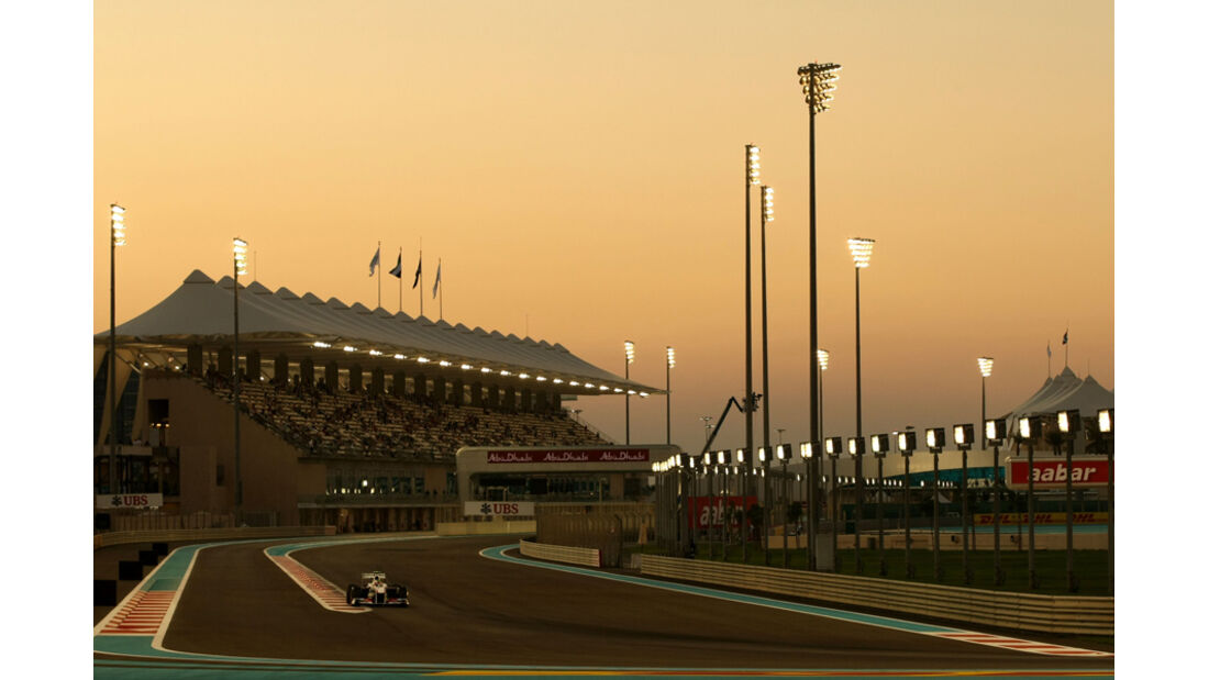 Sergio Perez - GP Abu Dhabi - Freies Training - 11. November 2011