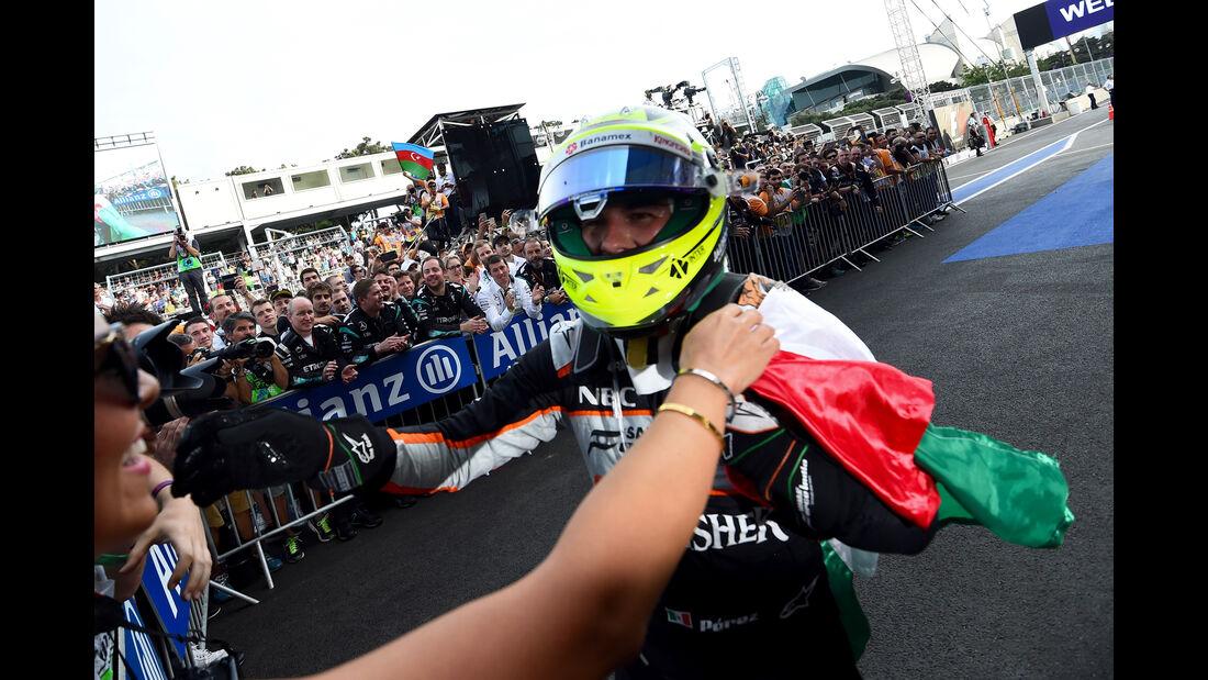 Sergio Perez - GP Aserbaidschan - Formel 1 - 2016