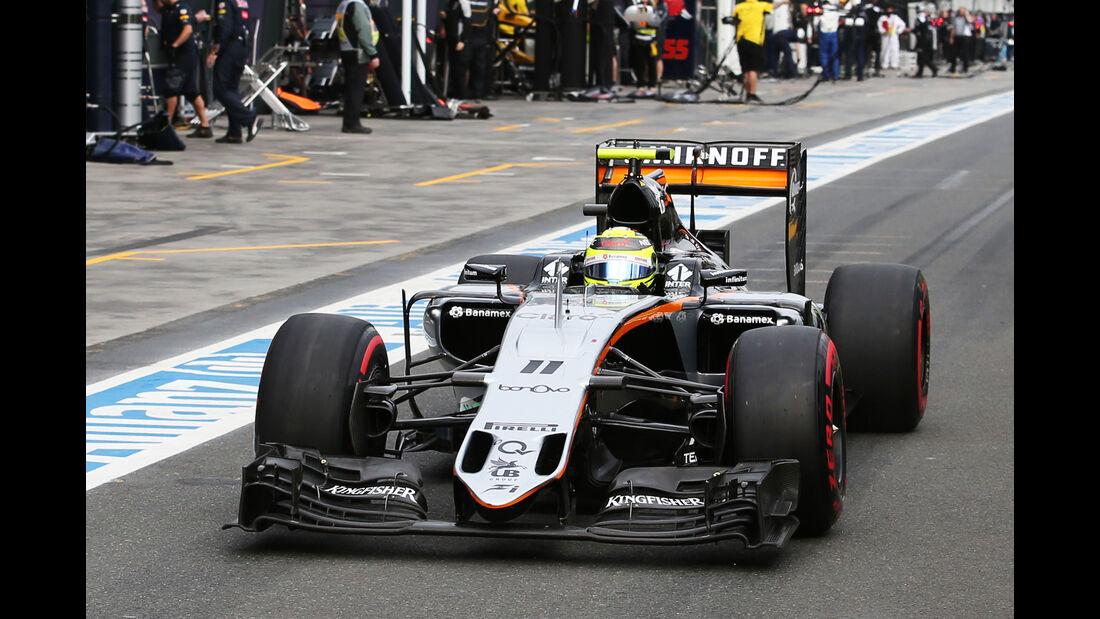 Sergio Perez - GP Australien 2016