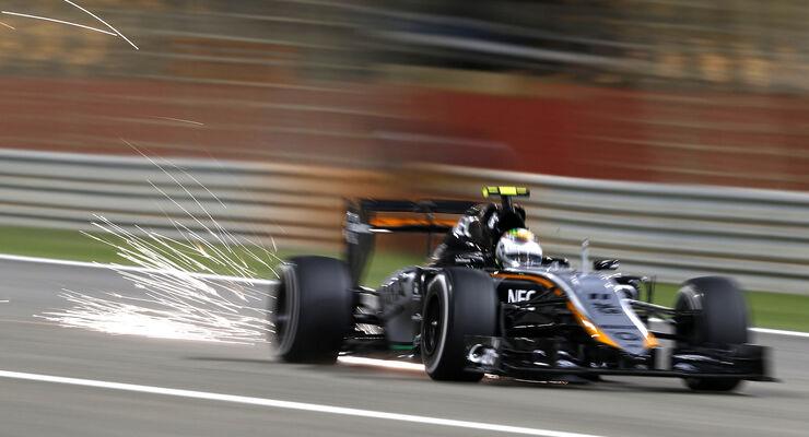 Sergio Perez - GP Bahrain 2015