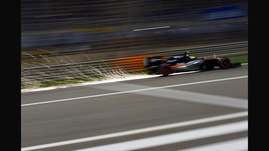 Sergio Perez - GP Bahrain 2016