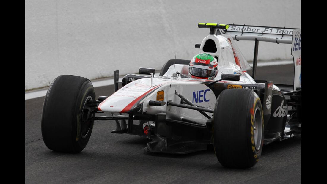 Sergio Perez GP Belgien 2011