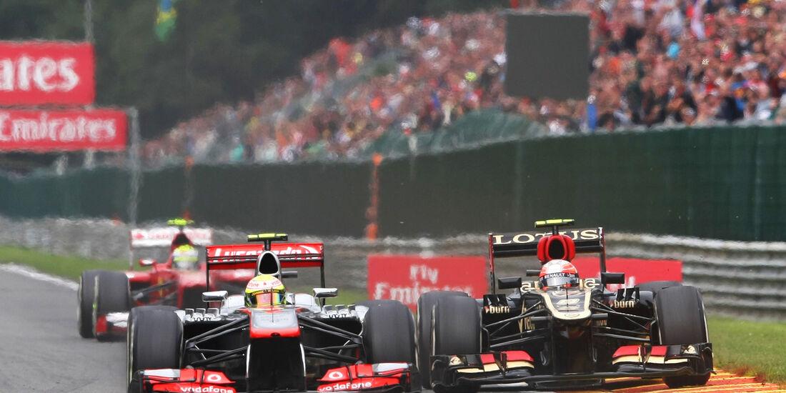 Sergio Perez - GP Belgien 2013