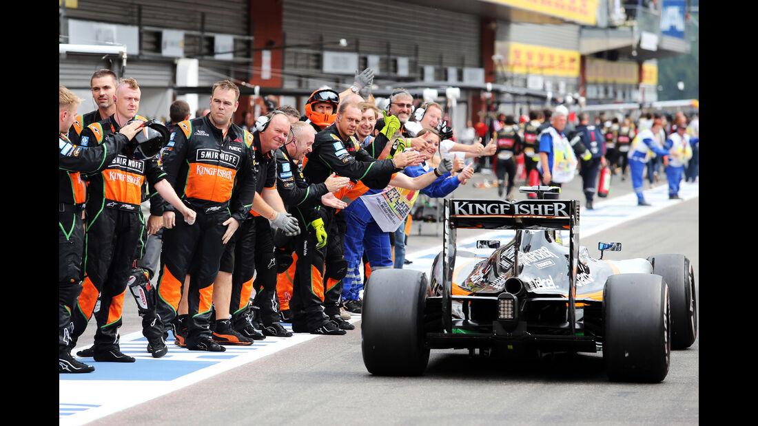 Sergio Perez - GP Belgien 2015