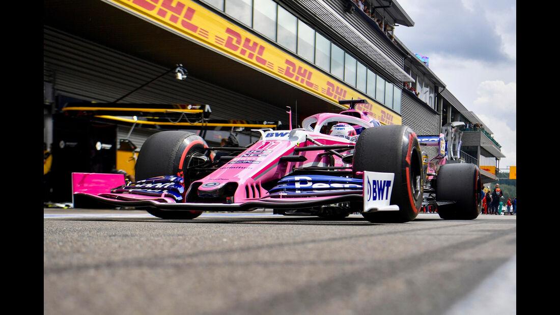 Sergio Perez - GP Belgien 2019