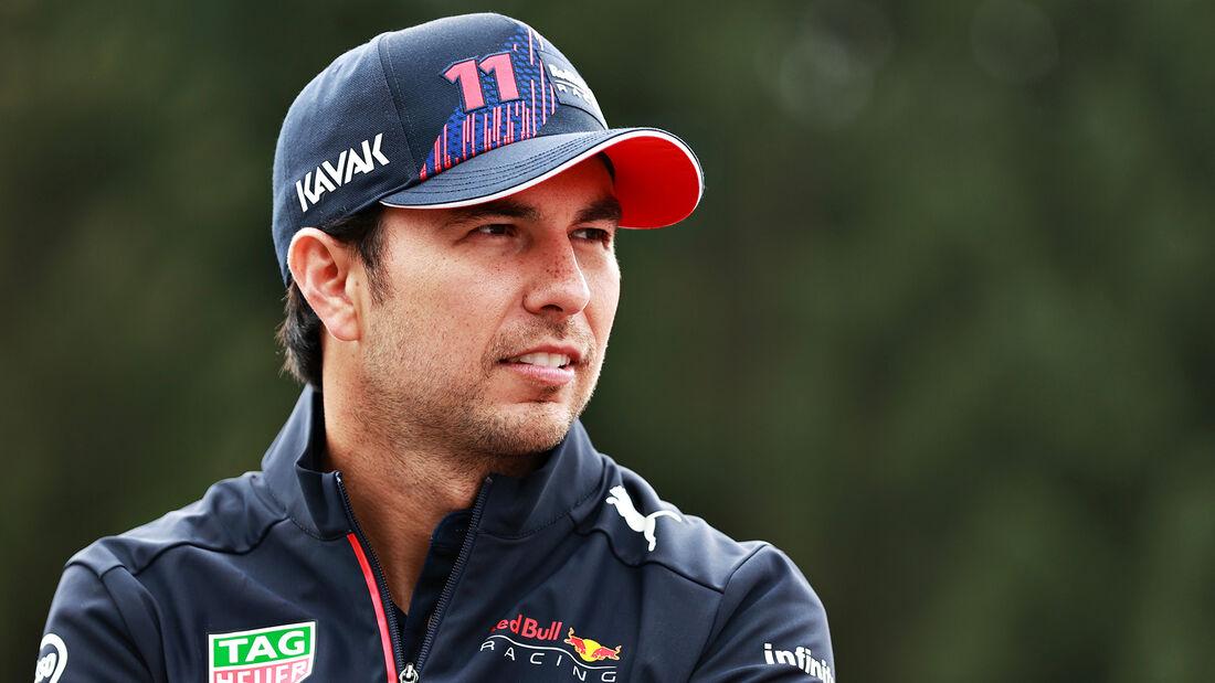 Sergio Perez - GP Belgien 2021