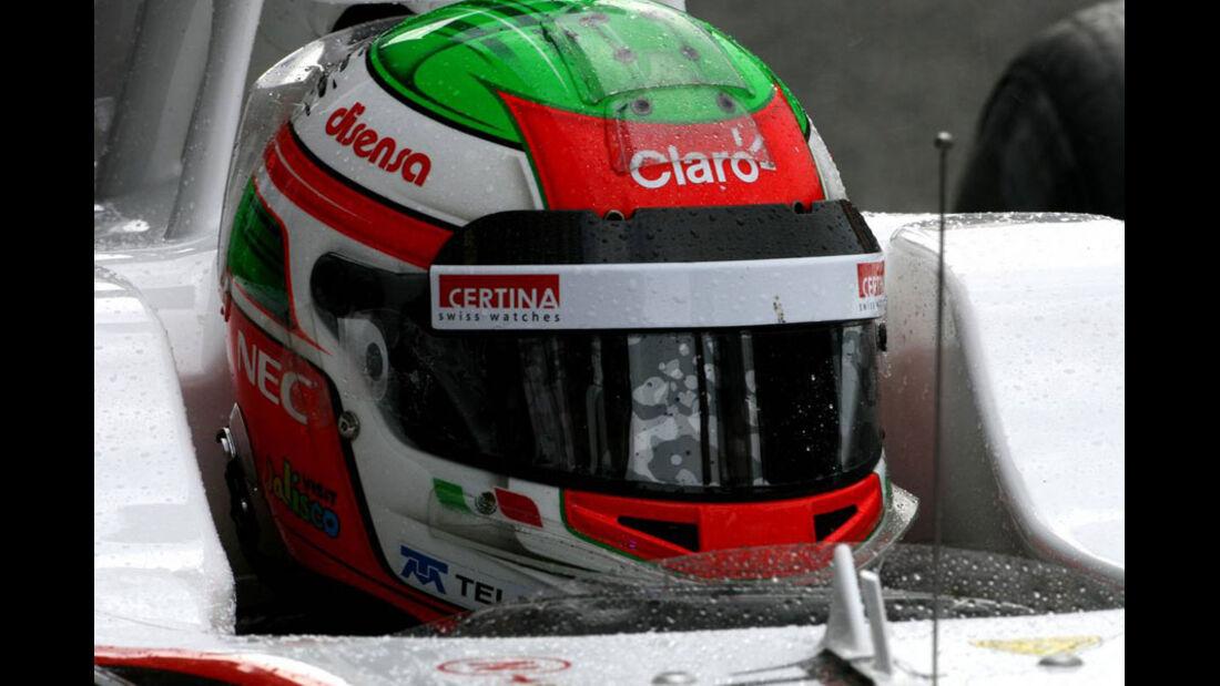 Sergio Perez - GP Belgien - 26. August 2011