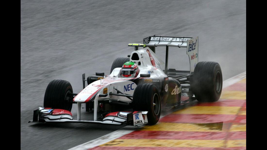 Sergio Perez - GP Belgien - Qualifying - 27.8.2011