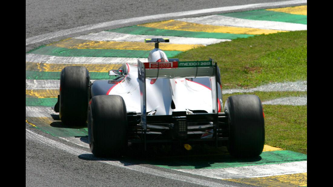Sergio Perez GP Brasilien 2011