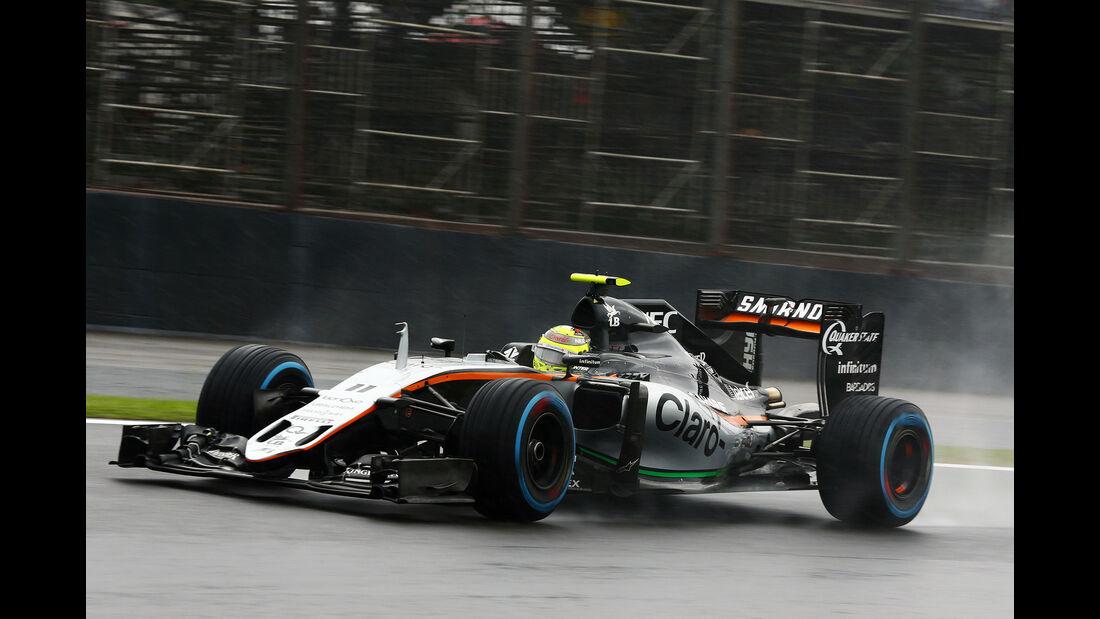 Sergio Perez - GP Brasilien 2016