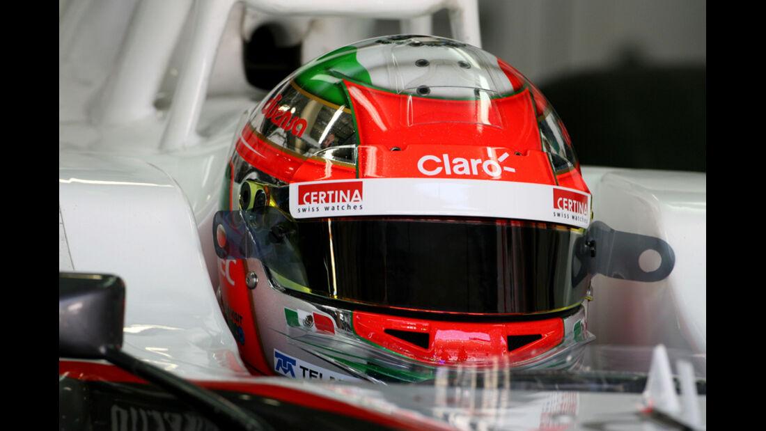 Sergio Perez - GP Brasilien - 25. November 2011