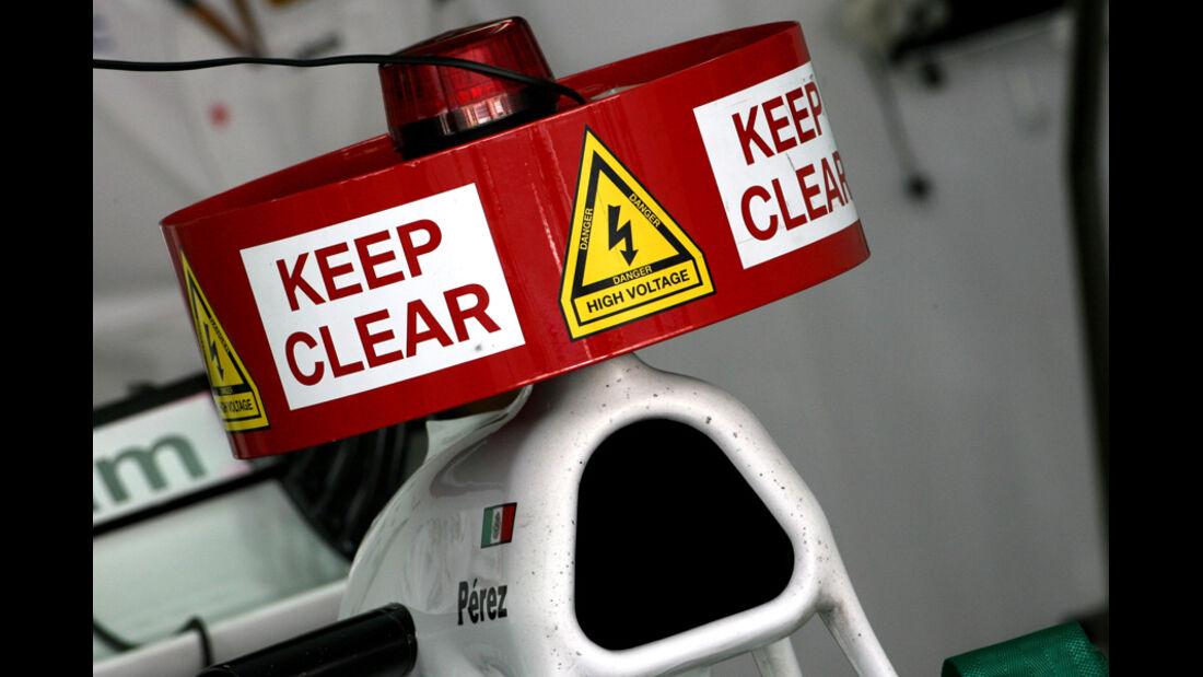 Sergio Perez - GP Brasilien - 26. November 2011