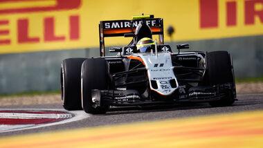 Sergio Perez - GP China 2016