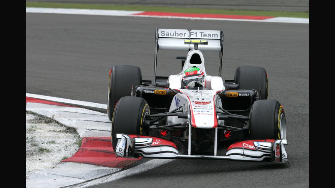 Sergio Perez GP Deutschland 2011 Noten