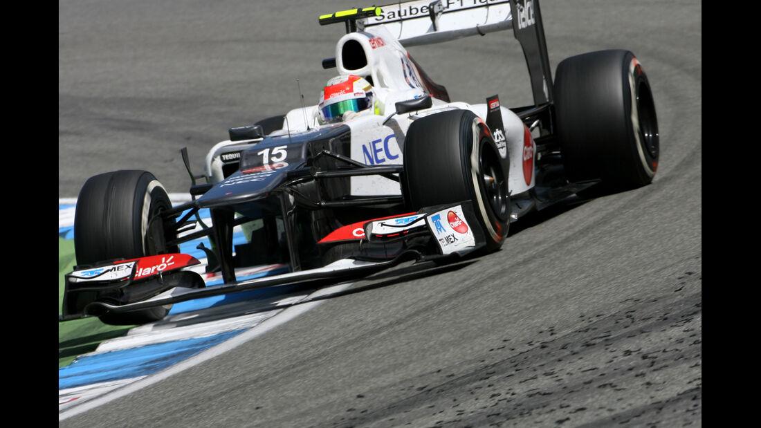Sergio Perez GP Deutschland 2012