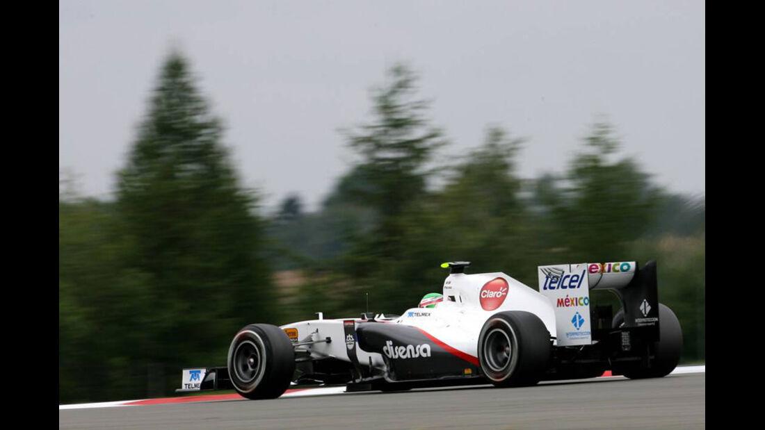 Sergio Perez - GP Deutschland - Nürburgring - 22. Juli 2011