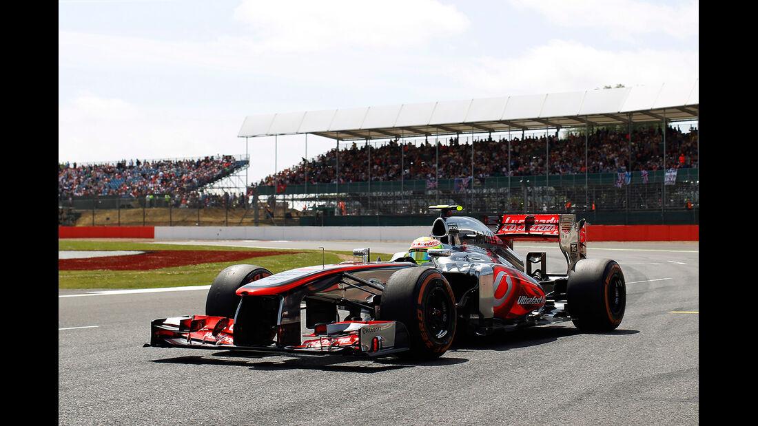 Sergio Perez - GP England 2013