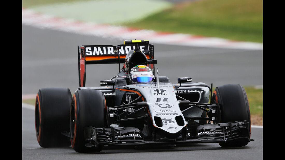 Sergio Perez - GP England 2015