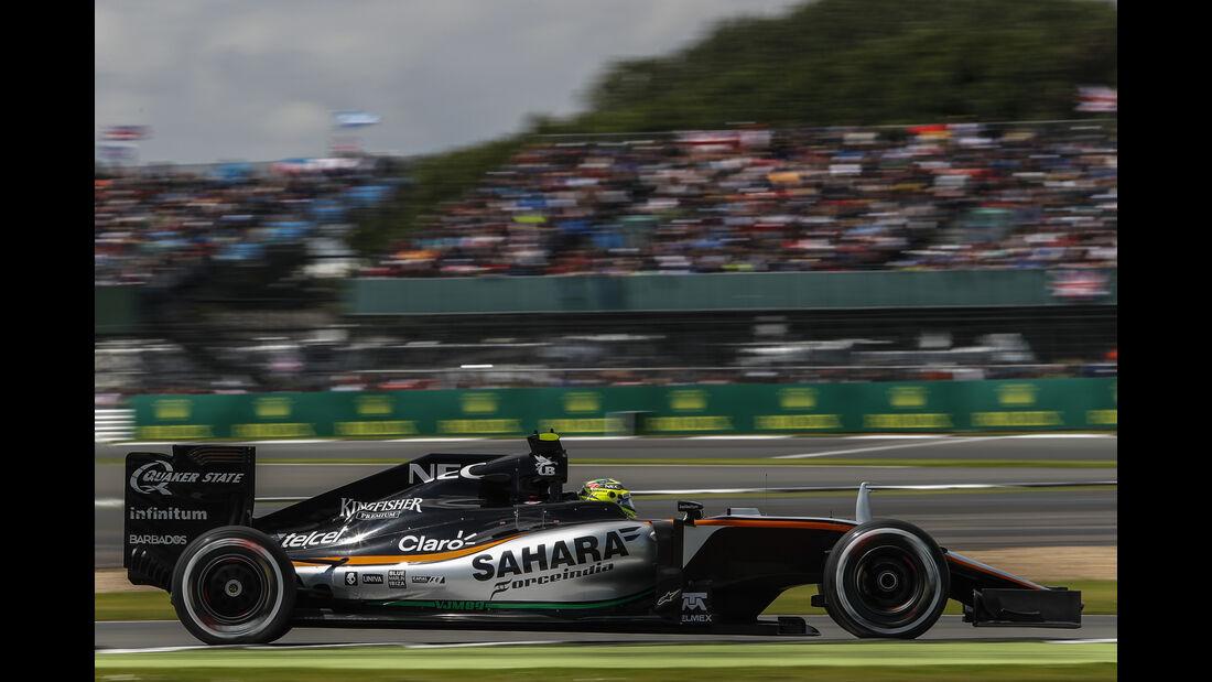 Sergio Perez - GP England 2016