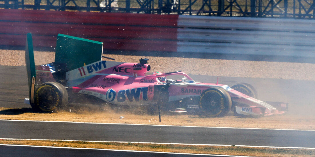 Sergio Perez - GP England 2018