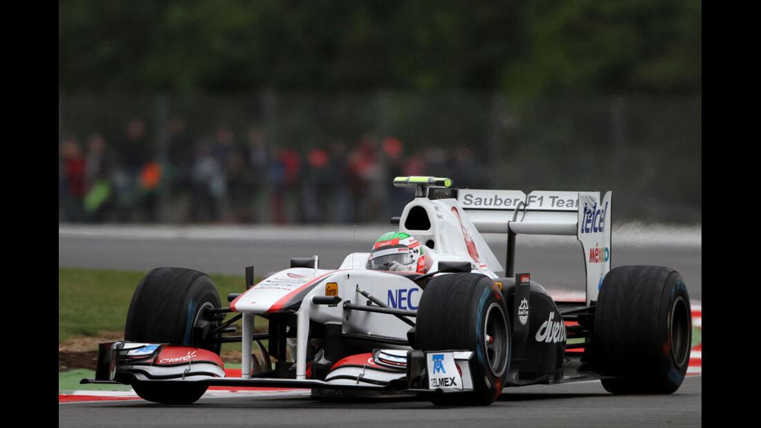 Sergio Perez - GP England - Training - Silverstone - 8. Juli 2011