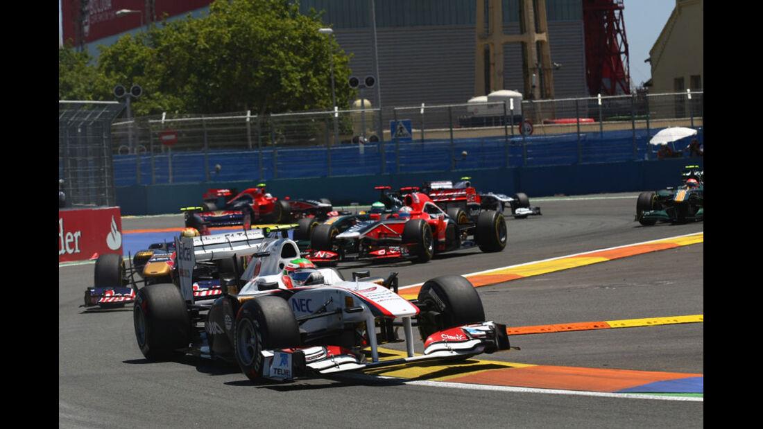 Sergio Perez GP Europa Valencia 2011